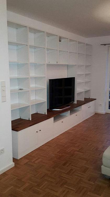 eckregal k che holz. Black Bedroom Furniture Sets. Home Design Ideas